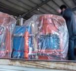 北京市  李老板 再次购买鑫晟太喷浆机型号:pz-5混凝土喷射机