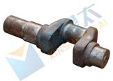 单缸活塞式灰浆泵曲轴,活塞式灰浆泵配件,灰浆泵曲轴,砂浆泵配件