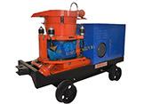 Hsp-5型轨轮防爆湿式喷浆机型号,混凝土喷射机,湿喷机,湿喷机型号,湿喷机价格