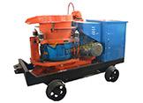 Hsp-7型轨轮防爆湿式喷浆机型号,喷射机,煤矿用喷浆机价格,湿喷机,湿喷机型号